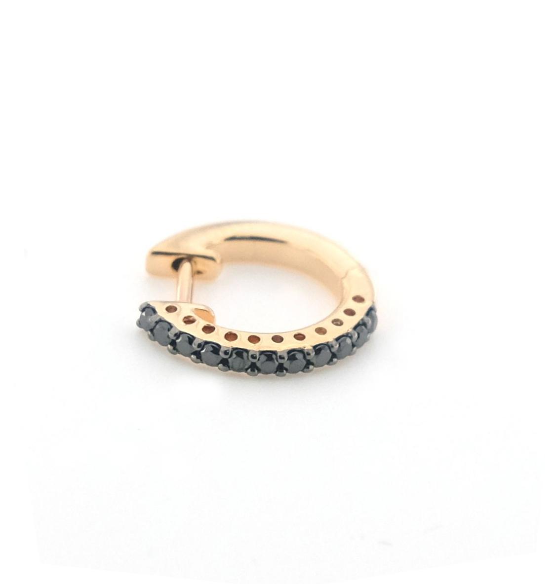 Mono-Orecchino-Labor-Cerchietto-oro-rosa-e-diamanti-neri-1.jpg