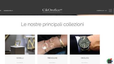Online il nuovo sito Cikorefice.it